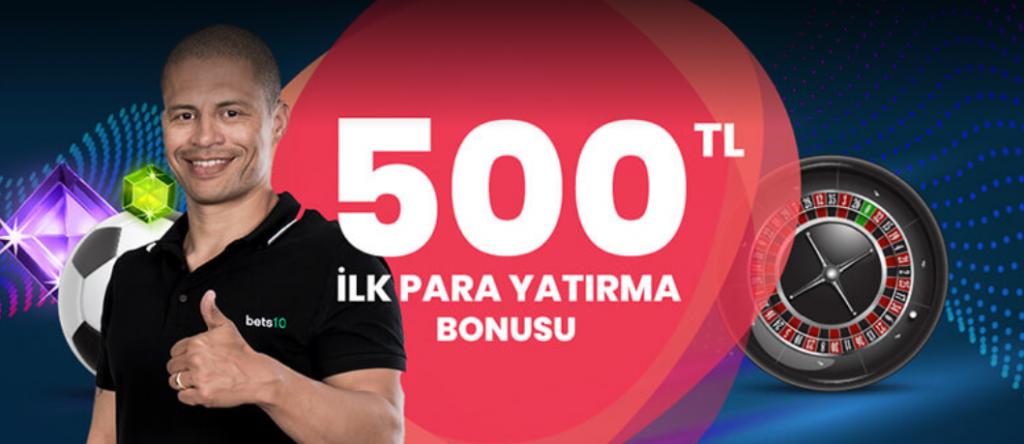 Bets10 İlk Üyelik Bonusu ile Oyunlarına 1000 TL İle Başlama Fırsatı